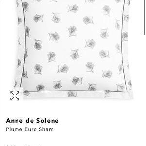Anne de Solene Bedding - 3 Euro Shams NWT